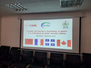 partenariat entre le Cnam Maroc, Pardec et le Ministère des Relations Internationales de la Francophonie québécois
